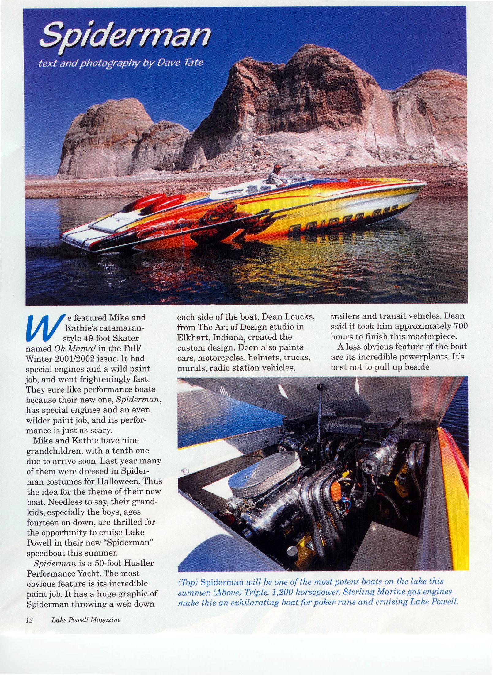 50' Performance Yacht, Lake Powell Magazine, jpg, 941KB · «